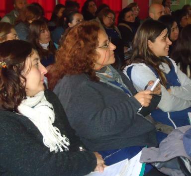 Comenzamos el Taller: Vínculos y conflictos en Rincón